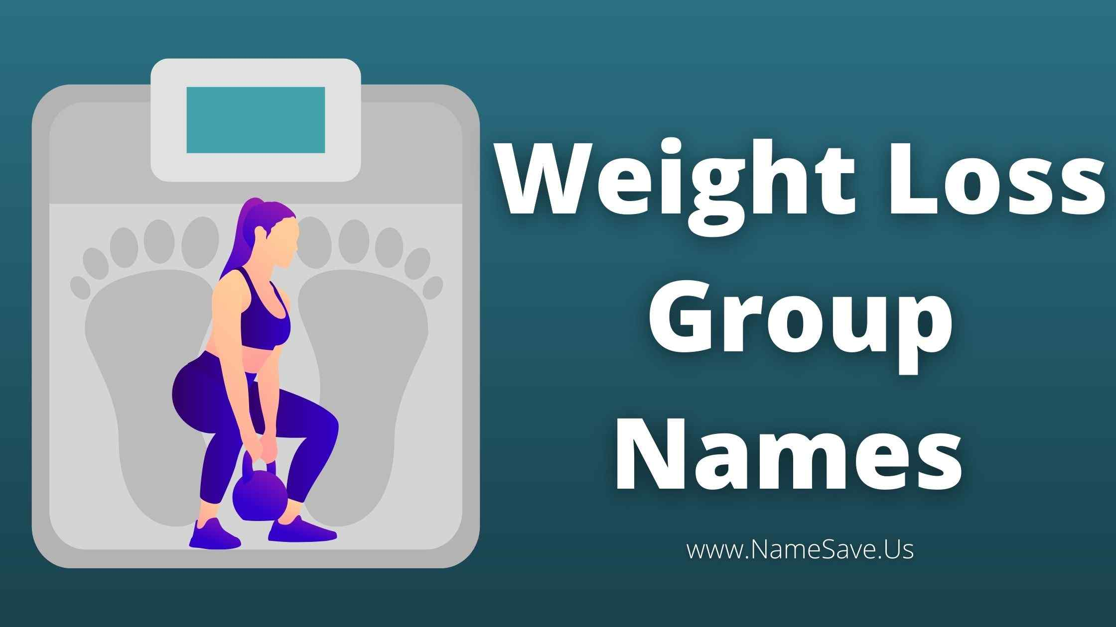 Weight Loss Group Names
