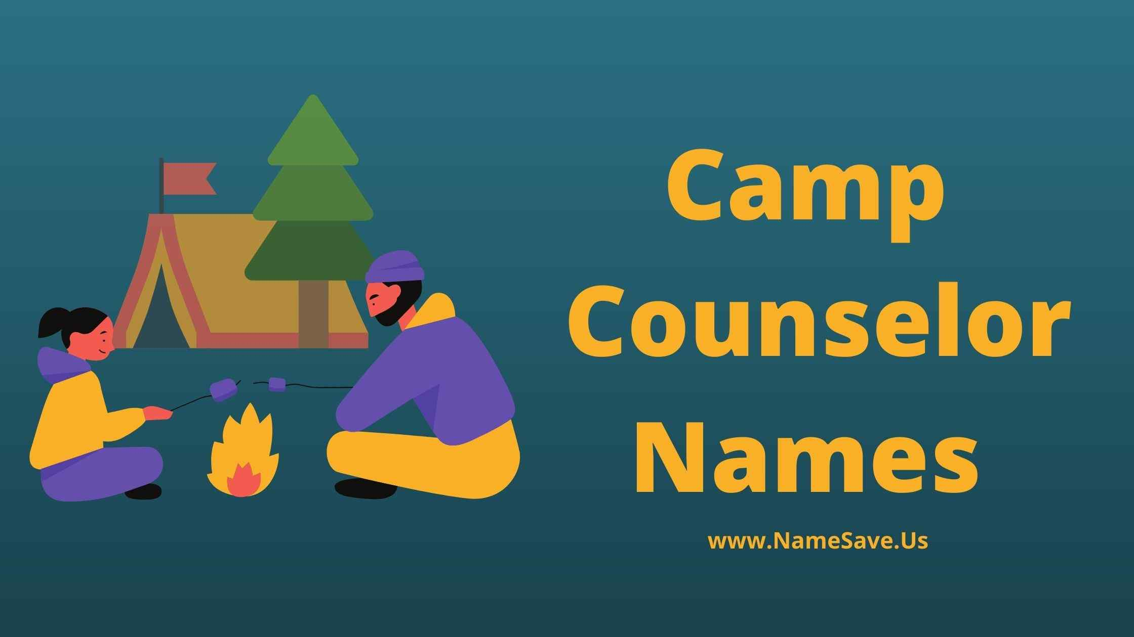 Camp Counselor Names List