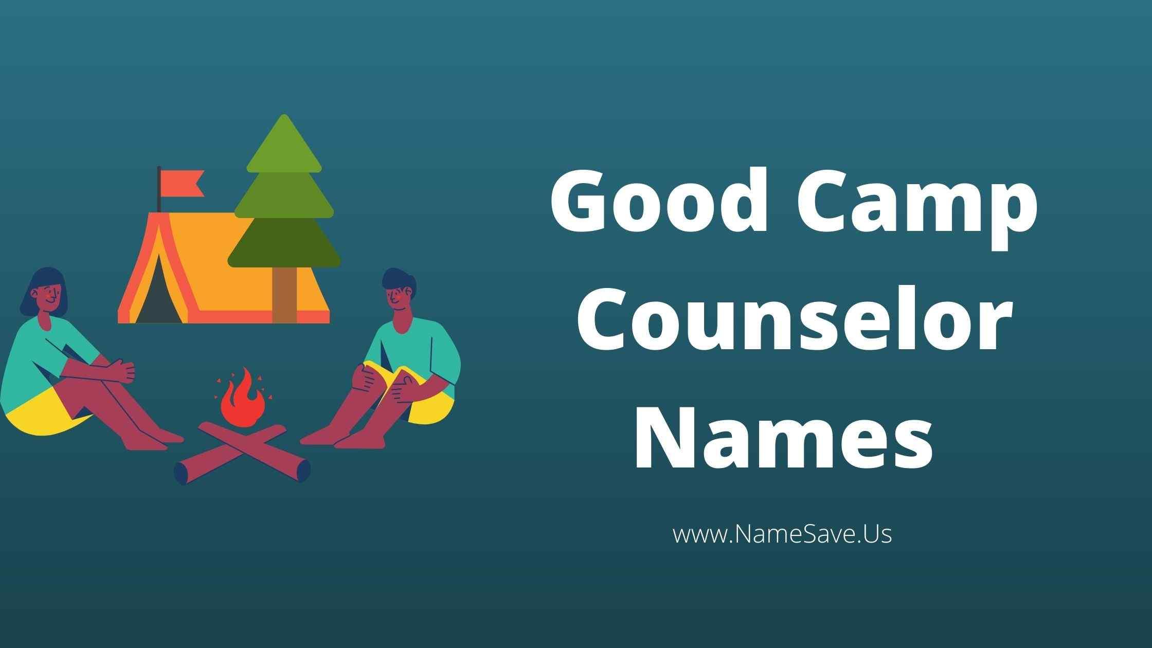 Good Camp Counselor Names